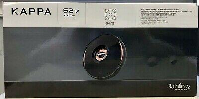 "Infinity KAPPA-62IX 62IX 450 Watt 6.5"" Kappa 2-Way Coaxial Car Speakers Pair NEW"