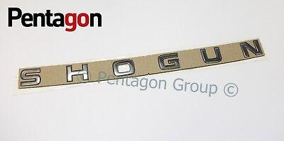 New Genuine Mitsubishi Shogun Bonnet Hood Badge Emblem SP037245