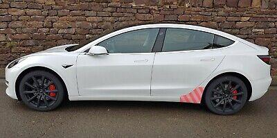 Tesla Model 3 Transparente Schutzfolie hinterer Seitenschweller