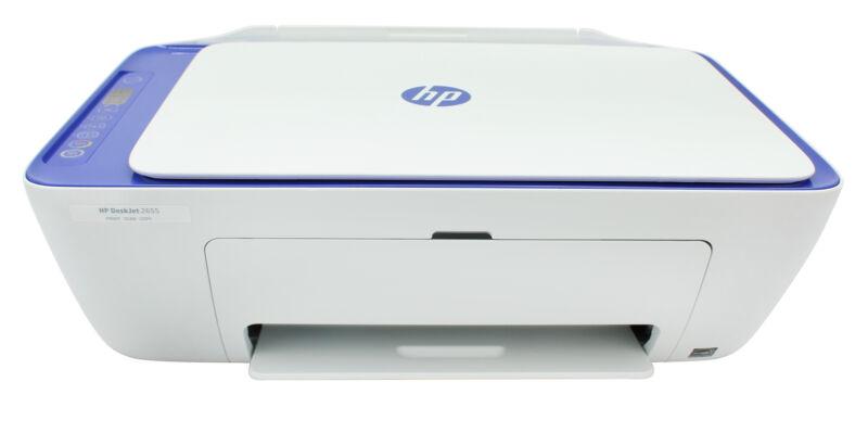 HP DeskJet 2655  All-In-One Wireless Instant Ink Ready Inkjet Printer