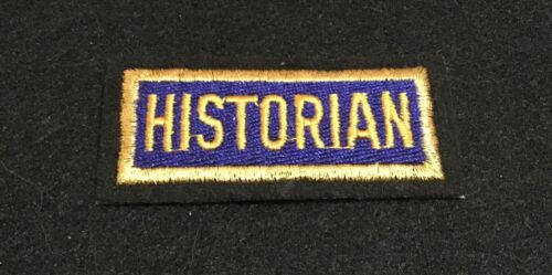 NEW American Legion HISTORIAN Patch!
