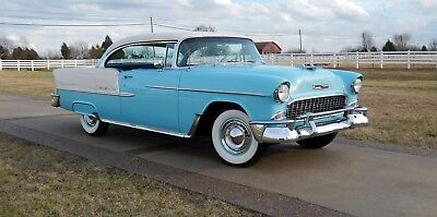 1955 Chevrolet Bel Air/150/210 belair 1955 CHEVY Belair sport coupe  all new 55,56,57,58() hot rod