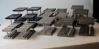 Wafer Carriers Cassettes - Metal - 25 Slot - Multiple Sizes - Lot Of Qty 15
