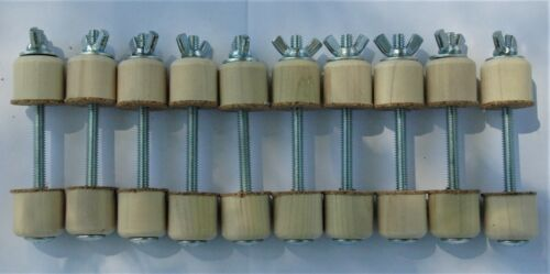 10 Spool Clamps for Violin, Viola, Mandolin, Strings Made in the USA!