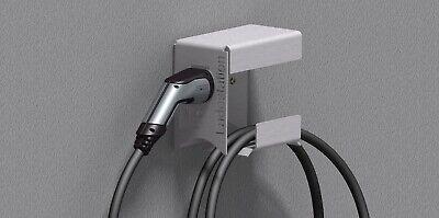 Wallbox Kabel E Auto Wandhalterung Ladekabel Ladestation Typ2 Stecker Edelstahl