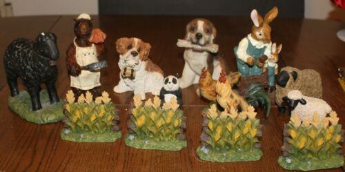 Lot of 14 Miscellaneous Figurine Items (Animals and others)