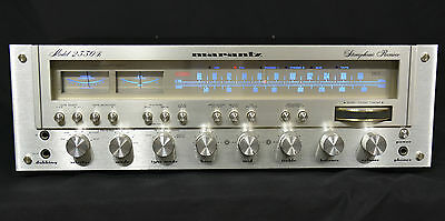 Vintage Marantz 2330B Receiver Recapped, serviced, LED, tone board upgraded