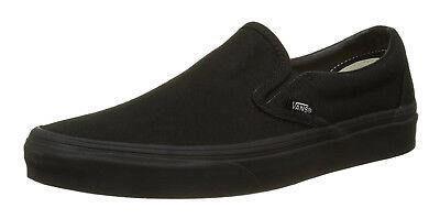 Vans Classic Slip On Black Black Mens Sneakers Tennis Shoes