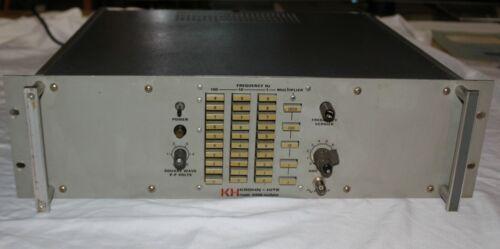 Krohn-Hite 4100A (R) Test Oscillator 0.01Hz to 1MHz  WORKING