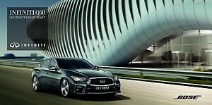 2016 MY Infiniti Q50 BOSE catalogue brochure limited edition - <span itemprop='availableAtOrFrom'> Varsovie, Polska</span> - 2016 MY Infiniti Q50 BOSE catalogue brochure limited edition -  Varsovie, Polska
