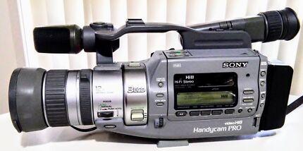 SONY Hi8 HANDYCAM PRO CCD-VX1E