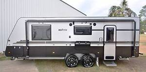 2017 NEXTGEN BLACKLINE 21'6 FULL ENSUITE SEMI OFFROAD CARAVAN Gympie Gympie Area Preview