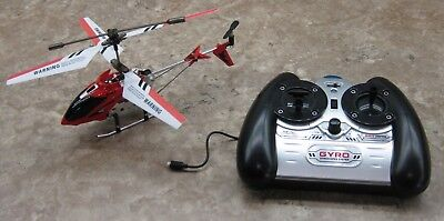 Syma S107 S107G RC Helicopter with Gyro- Red Drone Remote Control. Works Great. for sale  Kneeland