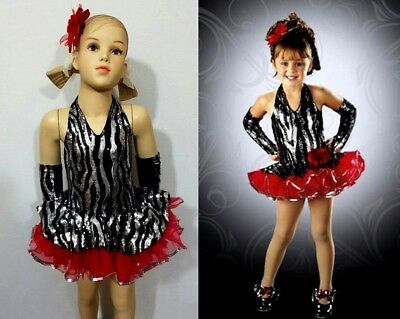 In The Spotlight Baby Dance Costume Tap Dress & Mitts Clearance Child X-Small](Spotlight Dress Up Costumes)