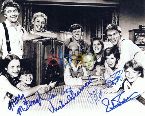 The Waltons Cast Autographed 8x10 Photo reprint