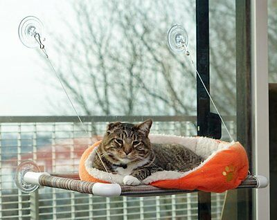 Cat Window Perch Seat Bed Hammock ~ ORIGINAL KITTY COT ~ No tools Required