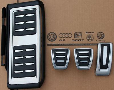 Audi A3 8V original S3 Pedalset Pedale Pedalkappen RS3 pedal pads caps S-Line