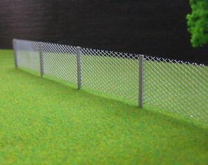 LG8705 1modèle clôture file de métal échelle 1:87 HO