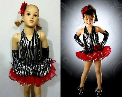In The Spotlight Baby Dance Costume Tap Dress & Mitts Clearance Child X-Large](Spotlight Dress Up Costumes)