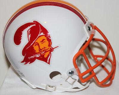 Masquerade Masks Tampa (Lee Roy Selmon Tampa Bay Buccaneers Riddell Custom Mini Helmet w/Metal Face)