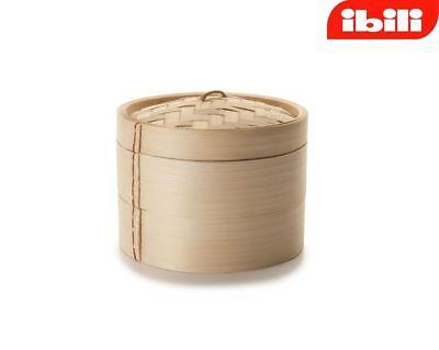 Ibili Nivel 2 Tejido Vaporera de Bambú Chino Oriental 12cm/12.7cm 727510 segunda mano  Embacar hacia Mexico