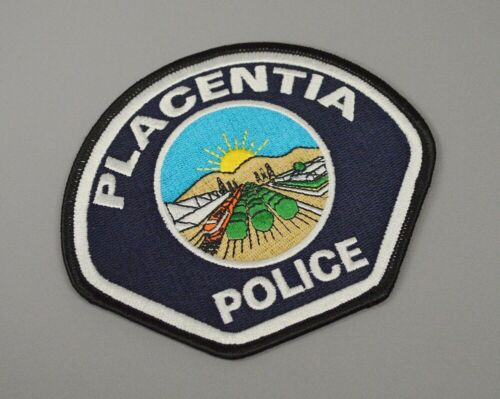 Placentia California Police 2005 version Patch ++ Mint Orange County CA