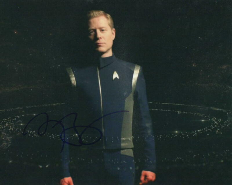 ANTHONY RAPP SIGNED 8X10 PHOTO STAR TREK DISCOVERY RENT AUTOGRAPH COA D