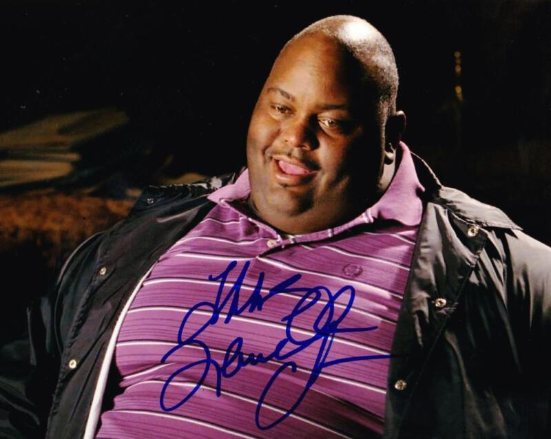 LAVELL CRAWFORD SIGNED 8X10 PHOTO BREAKING BAD HUELL AUTOGRAPH INSCRIPTION COA E