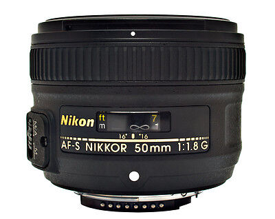 Nikon AF-S Nikkor 50mm f/1.8G Lens for NIKON DSLR (BLACK) - *BRAND NEW*