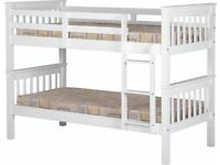 New bunk beds can be split in to 2 singles from Only £169 available from stock today