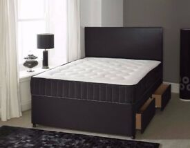Sameday Delivery 7Days aWeek King Size Black Bed and MEMORYFOAM Mattress Factory Direct Call Today