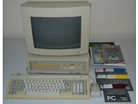 Vintage Amstrad PC1512 Excellent Condition Complete With All Original Disks, Manuals & Packaging