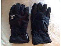 Salomon Gortex Ski Gloves L
