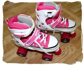 Roller Boots Skates Ladies/Girls size 3-6 with case SFR Miami