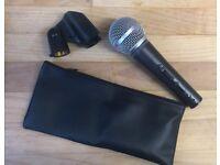 SHURE SM58 & SHURE BETA58 DYNAMIC MICROPHONES ( LIKE NEW)