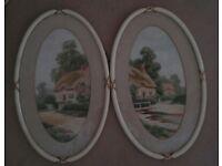 Fourteen framed prints & paintings, vintage frames, beautiful works of art
