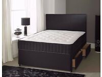 Same Day Delivery -- Cheapest Offer -- Double Divan Orthopaedic Bed -- Get It Now