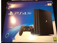 PS4 Pro 1tb CoD advances warfare. New boxed