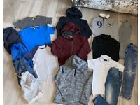 Huge boys clothing bundle 7/8 years (skinny jeans, hoody's, joggers, t/shirts etc) - most Next