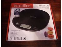 Digital Scales Kitchen with Tare Setting Accuracy Precision 1g LCD Clear Screen