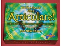 'Articulate Extra Pack 1' Expansion Deck
