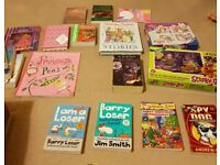 Kids books, toys and puzzles small freebies
