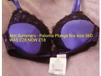Paloma Plunge Bra size 36D