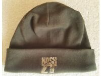 NASH ZERO TOLERANCE ZT BEANIE FLEECE HAT LARGE WATCH CAP OLIVE DRAB CARP FISHING ANGLER TACKLE ROD