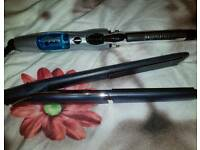 Hair straightener and Curl Wand Local delivery