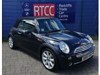 2005 (55 reg), MINI Convertible 1.6 Cooper (Chili) 2dr, AA COVER & AU WARRANTY INCLUDED, £1,995 ono