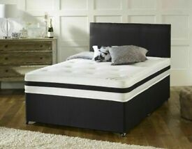 ⭐🆕 BIG BUYS NEW SINGLE/DOUBLE/KINGSIZE DIVAN BED BASES ON SALE, CHOICE OF MATTRESSES AVAILABLE NOW!