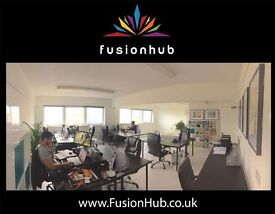 Fusion Hub - Shared office space for creative and tech professionals. Enfield
