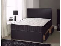 🌷💚🌷LONG LASTING BED & MATTRESS🌷💚🌷DOUBLE DIVAN BED BASE WITH DIFFERENT TYPES OF MATTRESSES
