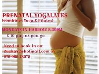 PREGNANCY YOGALATES (combines Yoga & Pilates)